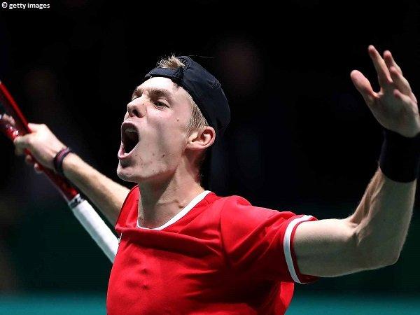 Hasil Davis Cup Finals: Denis Shapovalov Persembahkan Kemenangan Bagi Kanada
