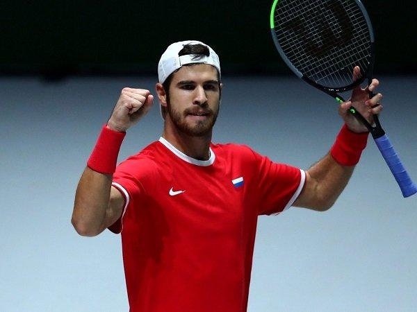 Hasil Davis Cup Finals: Rusia Dan Belgia Petik Kemenangan Pertama Fase Grup