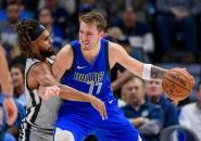 Luka Doncic Bawa Mavericks Menang Atas Spurs
