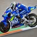 Meski Gagal Podium, Suzuki Tetap Apresiasi Penampilan Rins di GP Valencia