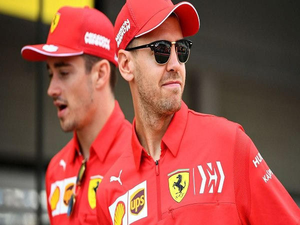 Terlibat Insiden di GP Brasil, Binotto Pastikan Relasi Vettel-Leclerc Tidak Ada Masalah