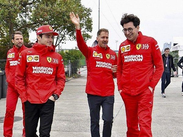 Brawn Minta Bos Ferrari Nasehati Vettel dan Leclerc