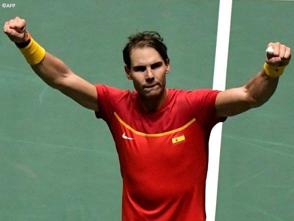 Hasil Davis Cup Finals: Rafael Nadal Antarkan Spanyol Bungkam Rusia