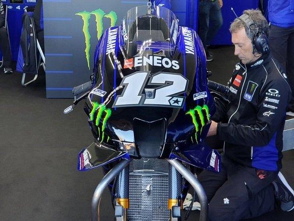 Vinales Merasa Puas Dengan Kecepatan Motor Yamaha Keluaran Terbaru