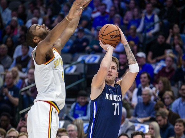 Doncic Mengamuk Lagi, Mavericks Menang Telak Atas Warriors