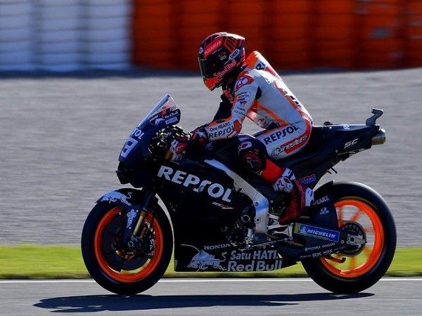 Marquez Tak Khawatir Melihat Pebalap Yamaha Moncer di Tes Valencia
