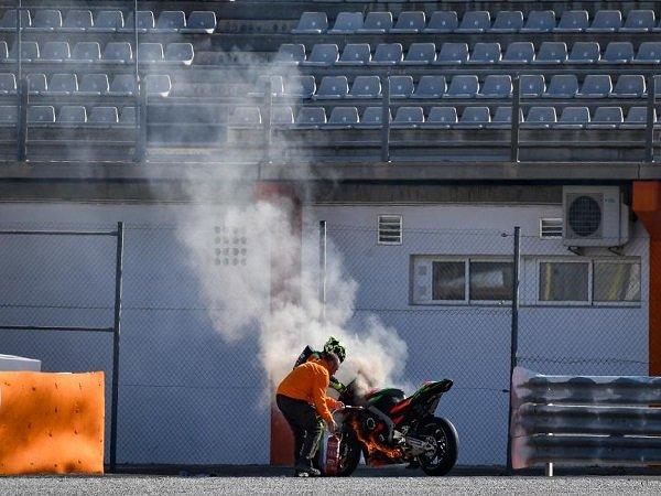 Motor Terbakar di Tes Pramusim, Iannone Mengaku Ketakutan