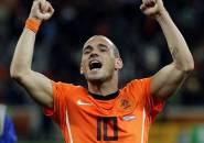 Sneijder Klaim Dirinya Miliki Potensi untuk Bisa Sehebat Messi atau Ronaldo