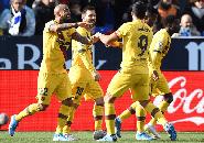 Gol Telat Vidal Bantu Barcelona Raih Kemenangan Atas Leganes