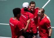 Hasil Davis Cup Finals: Lumpuhkan Australia, Kanada Sabet Satu Tiket Semifinal