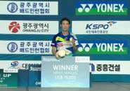 Kandaskan Lin Dan, Kanta Tsuneyama Juara Korea Masters 2019