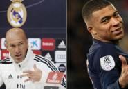 Jelang Bentrok Kontra PSG, Zidane Akui Jatuh Cinta pada Mbappe