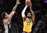 Masih Tak Terbendung, Los Angeles Lakers Lagi-Lagi Kalahkan San Antonio Spurs