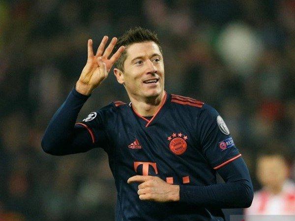 Lewandowski Cetak Sejarah Baru di Liga Champions