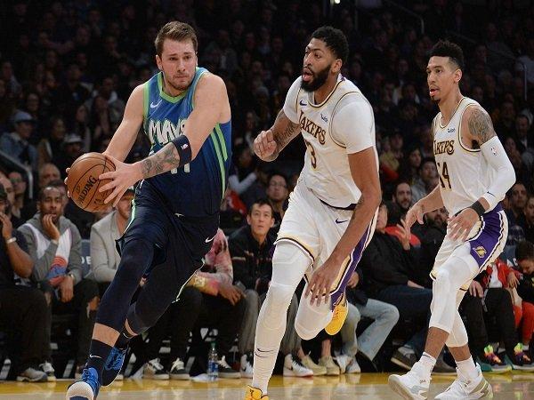Dallas Mavericks Putus Tren Kemenangan Milik Los Angeles Lakers