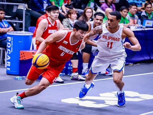 SEA Games 2019: Timnas Basket 3x3 Putra Indonesia Bawa Pulang Medali Perak