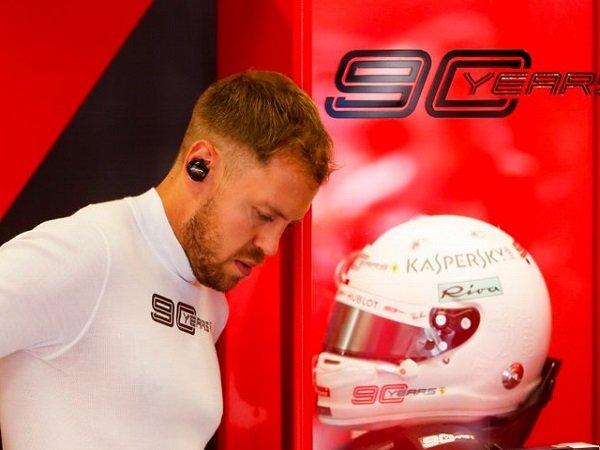 Tampil Jauh dari Harapan, Vettel Janji Bakal Lebih Baik Musim Depan