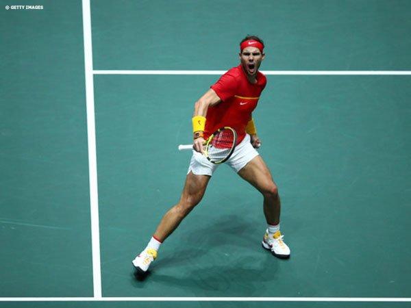 David Ferrer Percaya Rafael Nadal Masih Berkembang