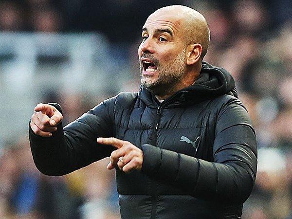Guardiola Bantah Man City Tak PeDe Tertinggal Jauh dari Liverpool