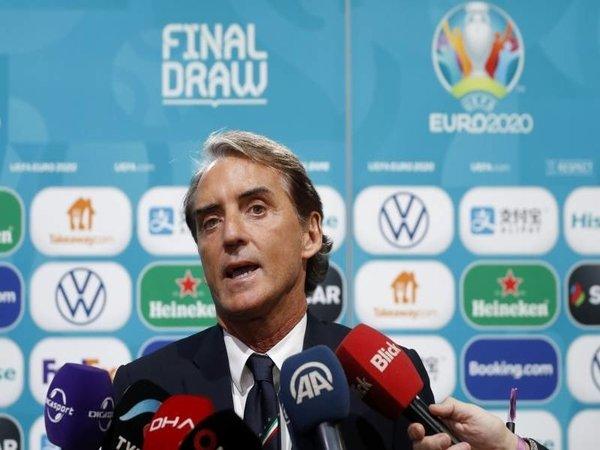 Mancini Optimis dengan Kans Italia di Euro 2020