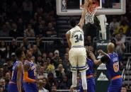 Tampil Garang, Bucks Menang Telak Atas Knicks