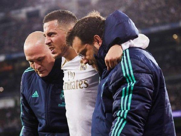 Belum Pulih dari Cedera Engkel, Hazard Diragukan Tampil pada El Clasico