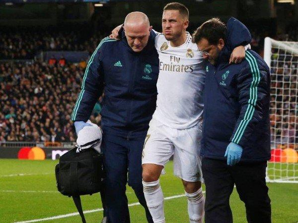 Cedera Engkel, Eden Hazard Dipastikan Absen di El Clasico