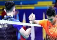 Meski Menang Mudah, Jonatan Christie Tetap Puji Penampilan Lee Zii Jia