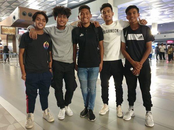 Lima Pemain Timnas U-19 Gabung Tim Garuda Select di Inggris