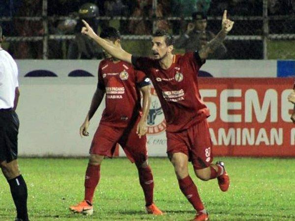 Taklukkan Barito Putera, Semen Padang FC Buka Peluang Bertahan di Liga 1
