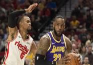 Los Angeles Lakers Kembali Menang Telak Atas Portland Trail Blazers