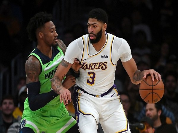 Anthony Davis Mengamuk, Lakers Tumbangkan Timberwolves