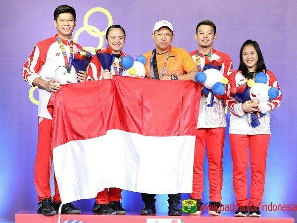 Hasil Final Individual SEA Games 2019: Emas Milik Malaysia & Indonesia