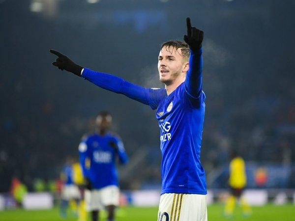Kabar Buruk Buat MU, Maddison Siap Perpanjang Kontrak Bersama Leicester