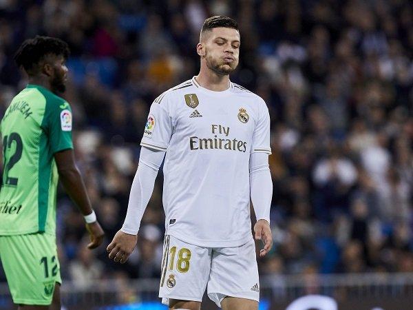 Jovic Gagal Bersinar Lagi, Zidane Berikan Pembelaan
