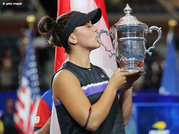Meski Kejar Mimpi Besar, Bianca Andreescu Tetap Rendah Hati