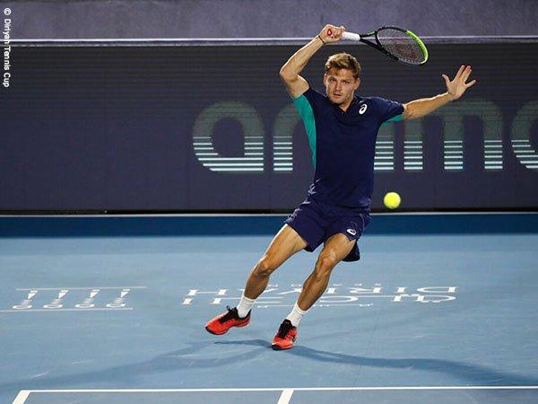Daniil Medvedev Dan David Goffin Melaju Ke Semifinal Diriyah Tennis Cup