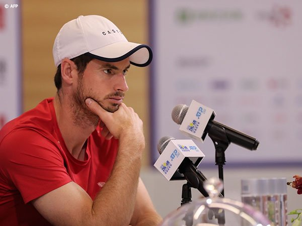 Latihan Pramusim Andy Murray Terganggu Oleh Hal Ini