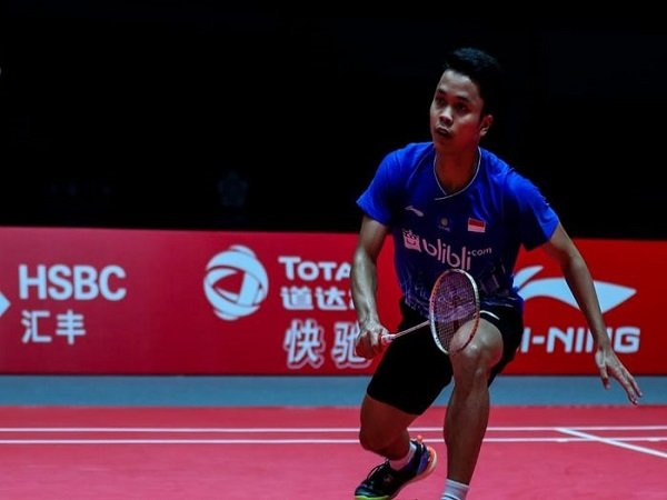 BWF World Tour Finals 2019: Tumbangkan Chen Long, Anthony Ginting Melaju ke Laga Puncak