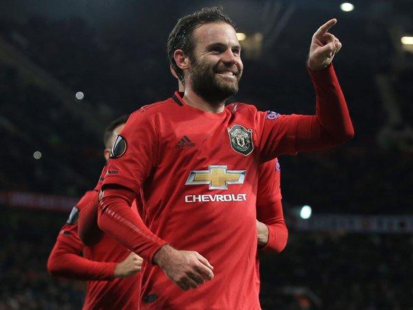 Gembiranya Mata Usai Akhiri Puasa Gol di Man United
