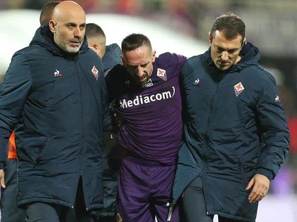 Menjamu Inter Milan, Fiorentina Dipastikan Tanpa Franck Ribery