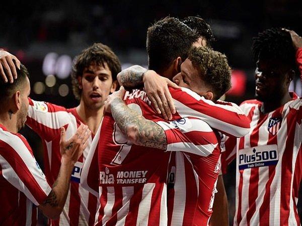 Tundukkan Osasuna, Atletico Madrid Kembali ke Empat Besar