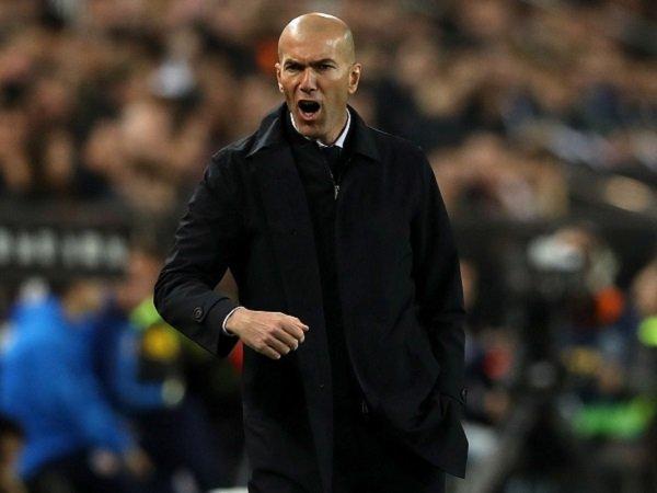 Selamat dari Kekalahan Kontra Valencia, Zidane Salutkan Mentalitas Real Madrid