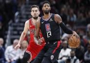 Tanpa Kawhi Leonard, Clippers Tak Berdaya di Tangan Bulls