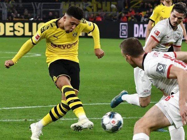 Cetak Satu Gol ke Gawang RB Leipzig, Sancho Pecahkan Rekor 51 Tahun