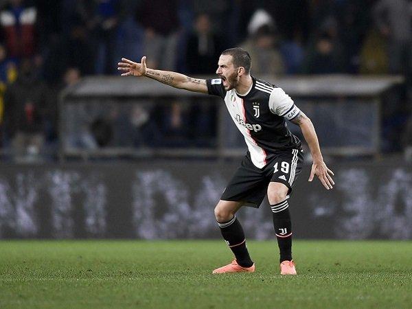 Bonucci Sadari Juventus Harus Tampil Sempurna Saat Hadapi Lazio