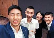 Ketika Chou Tien Chen Bertemu Sang Idola, Lee Chong Wei