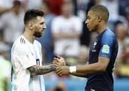 Kylian Mbappe Tersanjung Karena Diperhatikan oleh Lionel Messi