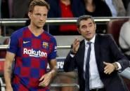 Rakitic Akui Belum Bicara dengan Valverde Soal Masa Depannya di Barcelona