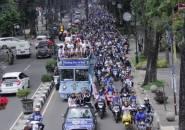 Bandung Berpesta Rayakan Kesuksesan Persib Putri Jadi Juara